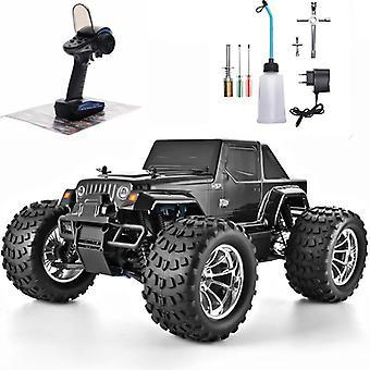 Rc Truck 1:10 Scale Nitro Gas Power Car, High-speed Hobby Remote Control Car