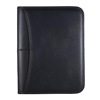 Professional Business, Portfolio Folder, Document Case, Zippered Closure With