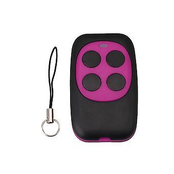 250-868MHZ Viola Codice Fisso Garage Porta Copia Telecomando 4 pulsanti