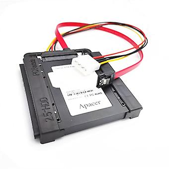 "Black Universal 2.5"" To 3.5"" Bay Ssd Hdd Pc Hard Disk Drive Bracket Adapter"
