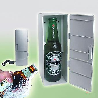 Hordozható Usb Hűtőszekrény Home Kollégiumi Irodai hűtőszekrény melegítő hűtő, ital