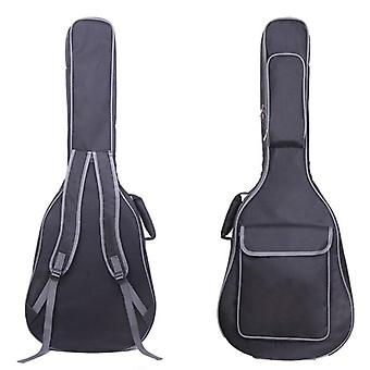 Guitar Carry Backpack, Oxford Acoustic Folk, Guitar Gig Bag Cover With Double