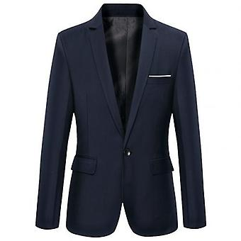Men Business Blazers Spring Autumn Formal  Coat Fashion