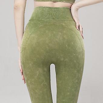 Women's high elastic breathable yoga pants Q08
