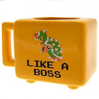 Super Mario Retro Heat Changing Mug