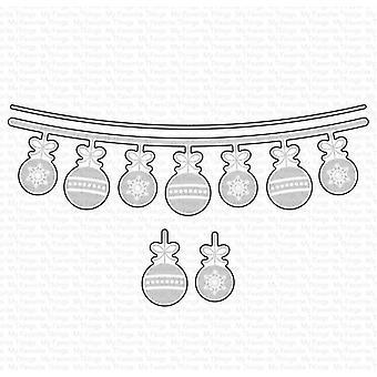 My Favorite Things Ornament Banner Die-namics Cutting Dies