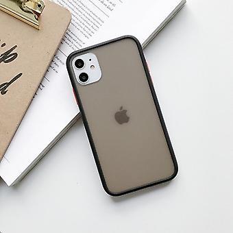 Stoßfest Transparent einfache Einfarbige Handytasche für Iphone