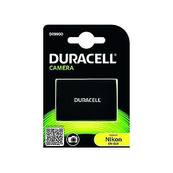 Duracell premium analog nikon en-el9 en-el9e battery d40 d60 d3000 d5000 7.4v 1100mah 1