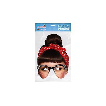 Mask-arade Celebrity Rockabilly Face Mask