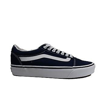 Vans MN Ward Dress Blue/White Canvas Mens Lace Up Sneakers