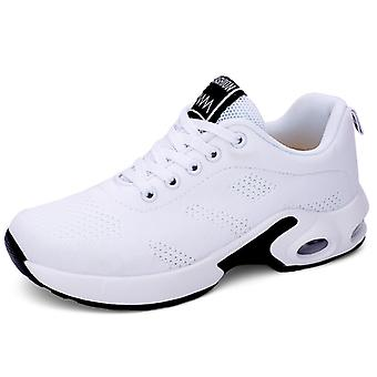 Femmes & s Air Cushion Sneakers Chaussures Blanches