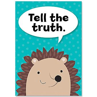 Tell The Truth Woodland Friends Inspire U Affiche