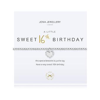Joma Sieraden Een beetje Happy Sweet 16e verjaardag armband 2924