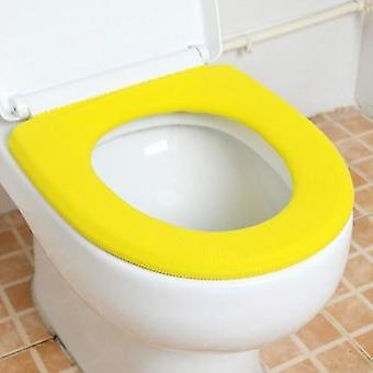 Colorful Warm Soft Washable Toilet Seat Cover, Mat Set For Home, Case Toilet