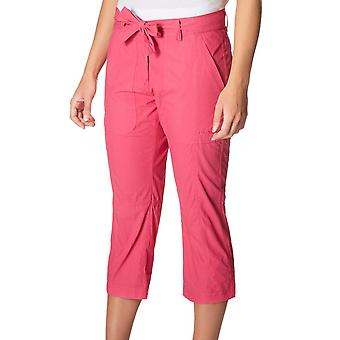New Peter Storm Women's Holiday Capri Travel Walking Pants Pink