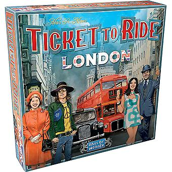 Official Ticket To Ride London Family Home Fun Lockdown Kids Toy Play Party