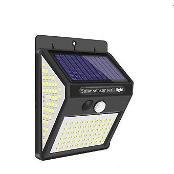 Wasserdichte Solar Lampe Garten Bewegungssensor Led Solar wiederaufladbare Garten Lichter