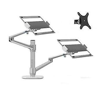Aluminum- Dual Arm Mount, Stand Bracket For Laptop
