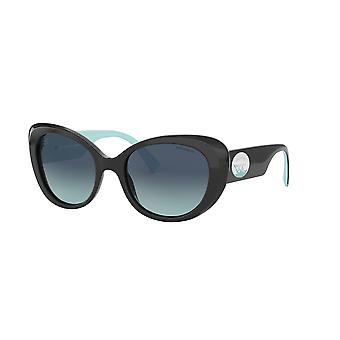 Tiffany TF4153 80019S Black/Azure Gradient Blue Sunglasses