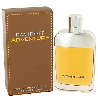 Davidoff Adventure Eau De Toilette Spray By Davidoff 3.4 oz Eau De Toilette Spray