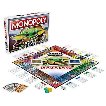 Monopoly star wars the mandalorian the child edition board game