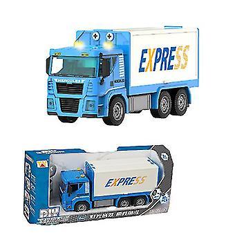 Children's manual detachable truck