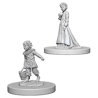Children Pathfinder Deep Cuts Unpainted Miniatures (6 Units)