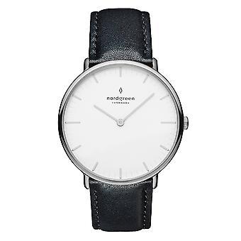 Nordgreen Nr36sileblxx White Dial Unisex Analog Watch