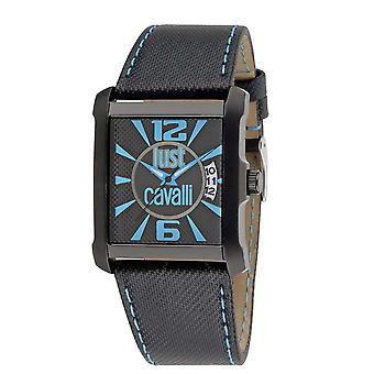 Just Cavalli Rude Black Dial Men's Watch R7251119001