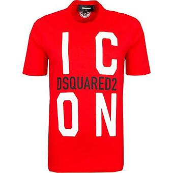 Dsquared2 Icons Vertical Icon Renny T-Shirt