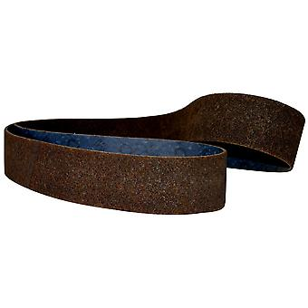 3M 05656 Scotch-Brite Surface Conditioning Belt SC-BS 90mm x 395mm AMED Maroon