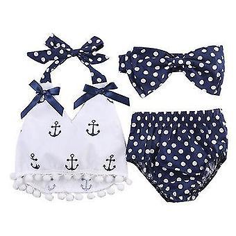Baby badetøy klær, anker topper skjorte