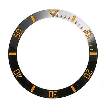 38mm Bezel Ceramic Watch Face Inner Diameter 30.7mm Replacement Parts