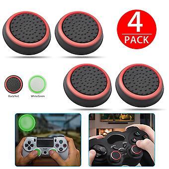 tommelpinne griper caps joystick cap tilfeller slank silikon analog styrespak håndtak deksel for Xbox PS3 / PS4 / PS4 Pro tilbehør