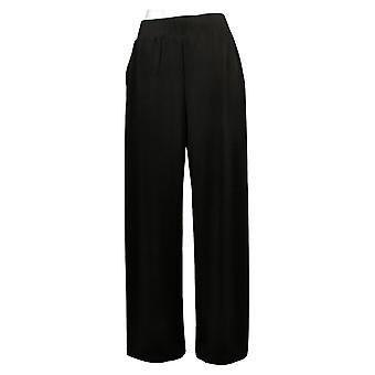 G.I.L.I. Got It Love It Women's Pants Jetsetter Side desgarra a los negros A353513