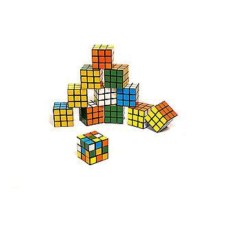 FengChun Premium Zauberwrfel - 3 x 3 12er Set - Robuster Zauberwürfel - Mini-Set - Brainteaser -