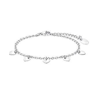 amor Kvinders armbånd i rustfrit stål, hjerte-formet (1)