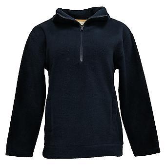 Koolaburra By UGG Women's Sueded Sherpa 1/4 Zip Pullover Blue A386507