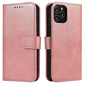 Flip folio leather case for xiaomi 10/10 pro rose gold pns-2558
