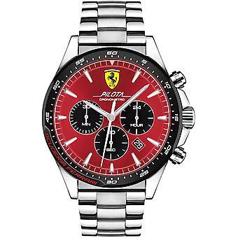 Scuderia Ferrari SF830619 PILOTA Heren Horloge