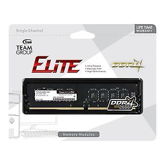 Team Elite 8GB Sin disipador térmico (1 x 8GB) DDR4 2666MHz DIMM Memoria del sistema