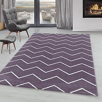 Tappeto del soggiorno IROH pile corto bambino tappeto onde design linee