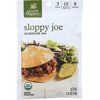 Simply Organic Mix Sloppy Joe Org, Case of 12 X 1.41 Oz