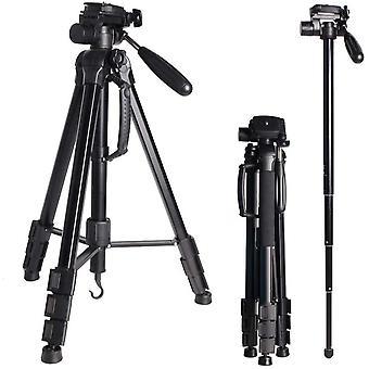 Wokex Portable Tripod 176cm/69.3inch for Digital Camera/DSLR/Gopro/Smartphone, Light Weight Aluminum