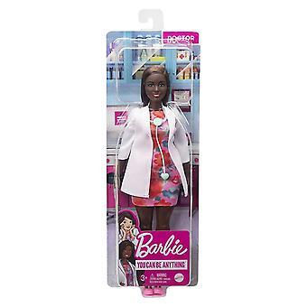 Barbie Carrières Doctor Doll met accessoires