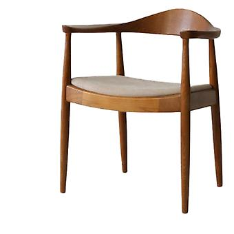 Cafe Hall, Nordic Solid Wood, Dining Chair