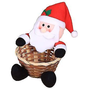 Joulupöytä koristelu Lasten karkkikori Joulukoristeet Suuri Karkkilaatikko