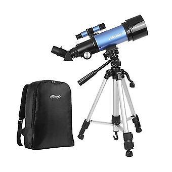 IPRee 20-120X 70mm Refractor Astronomy Telescope Aikuinen Lapset Aloittelija Monocular Kolmijalka reppu