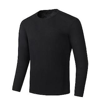 Зима Usb Отопление Снежный комплект нижнего белья, теплые мужчины Одежда Походные брюки Самоодентий
