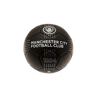 Man City Mini Fodbold Størrelse 1 Sort